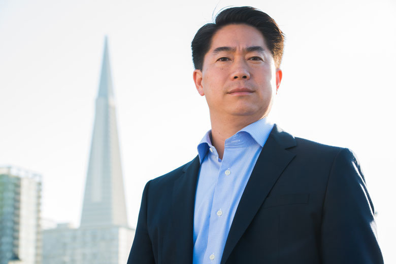 mens grooming in SF on asian CEO