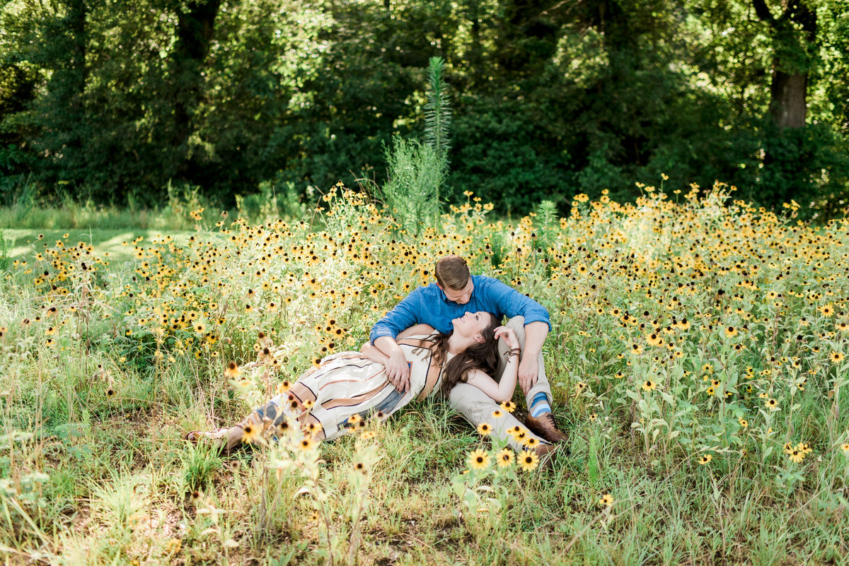 wake forest, nc engagement photo