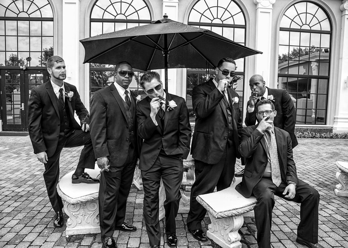 NJ Wedding Photographer Groomsmen