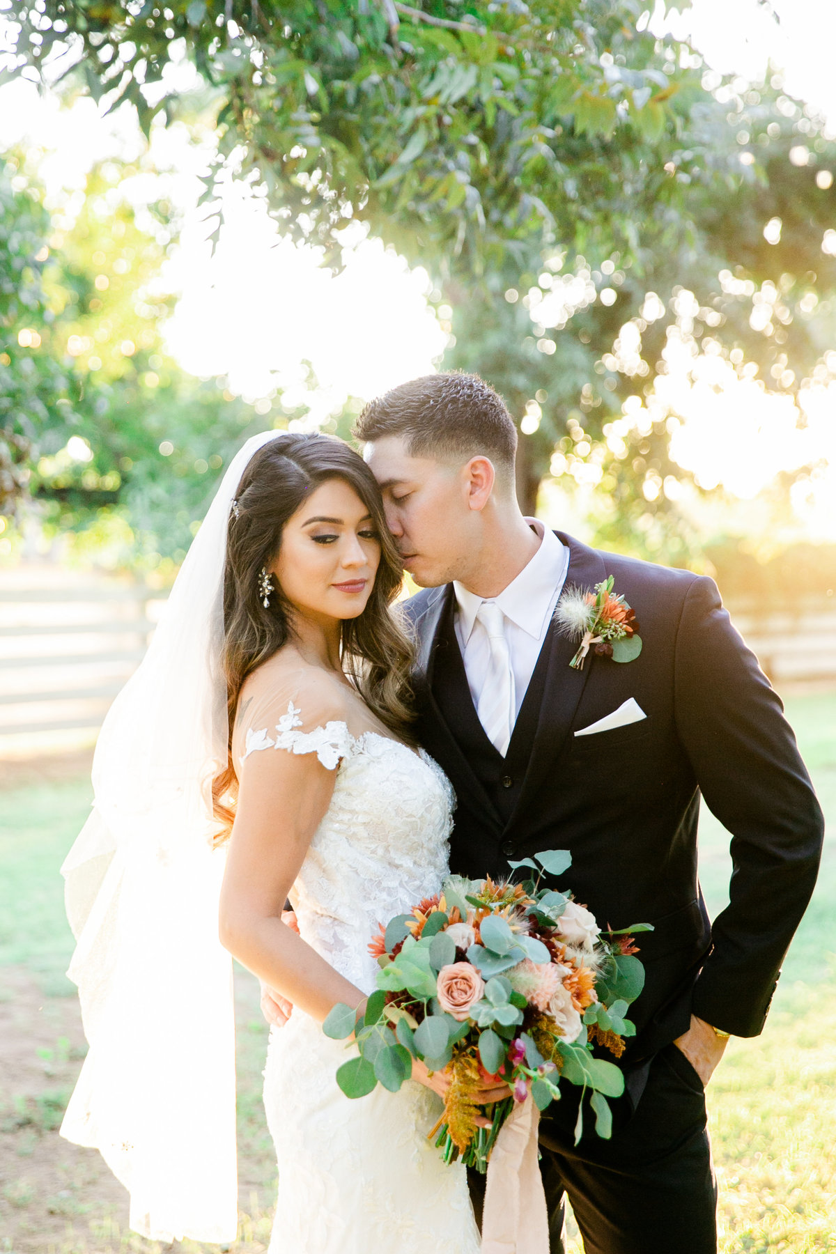 Karlie Colleen Photography - Phoenix Arizona - Farm At South Mountain Venue - Vanessa & Robert-557