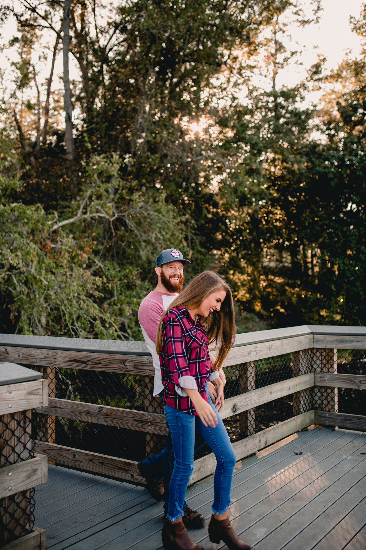 Lifestyle engagement photographer creating funny, fun, and memorable experiences in Florida.