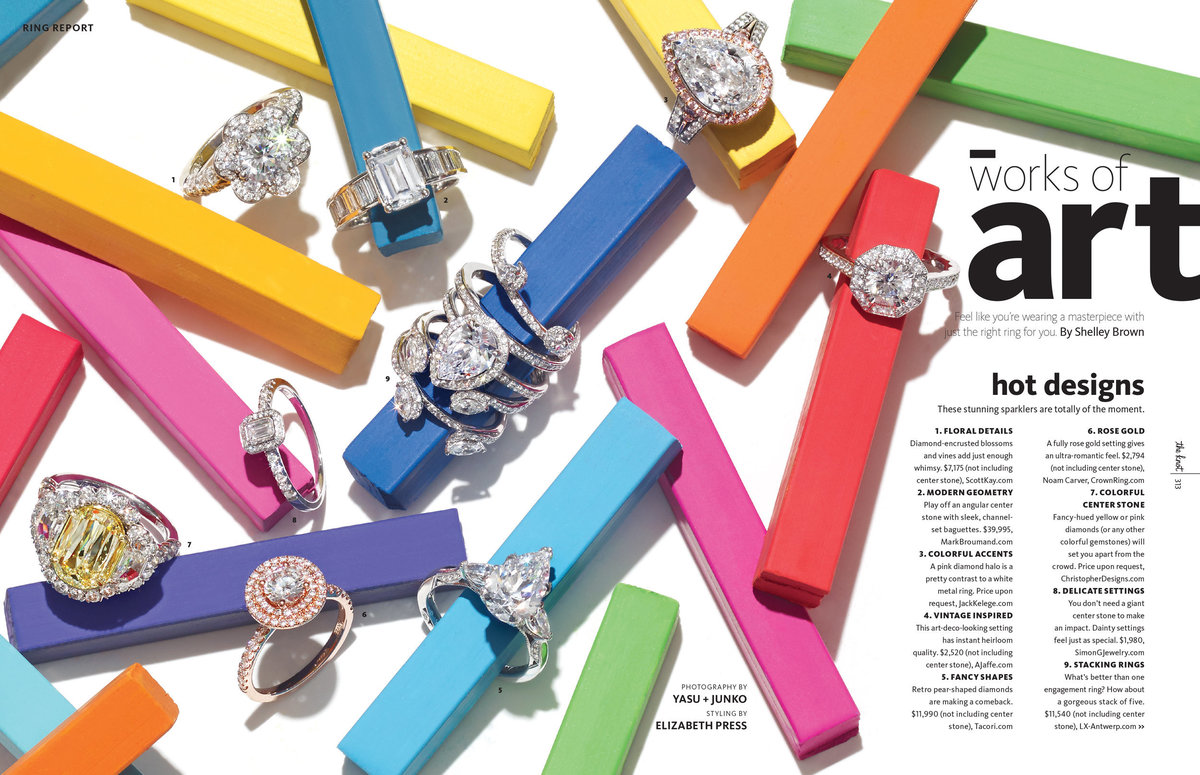 Sarah Kay Love Featured Work Rings