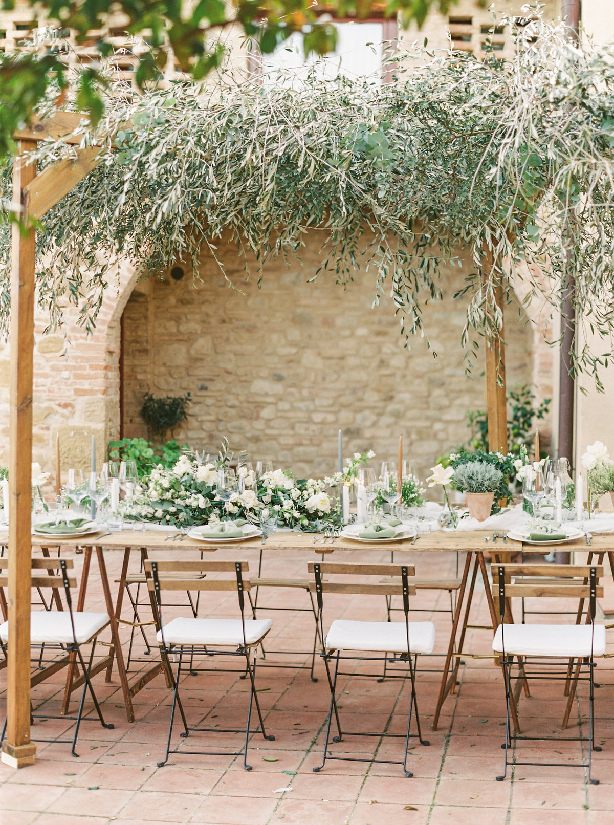 Tuscany Wedding Erica Nick - Lauren Fair Photography327