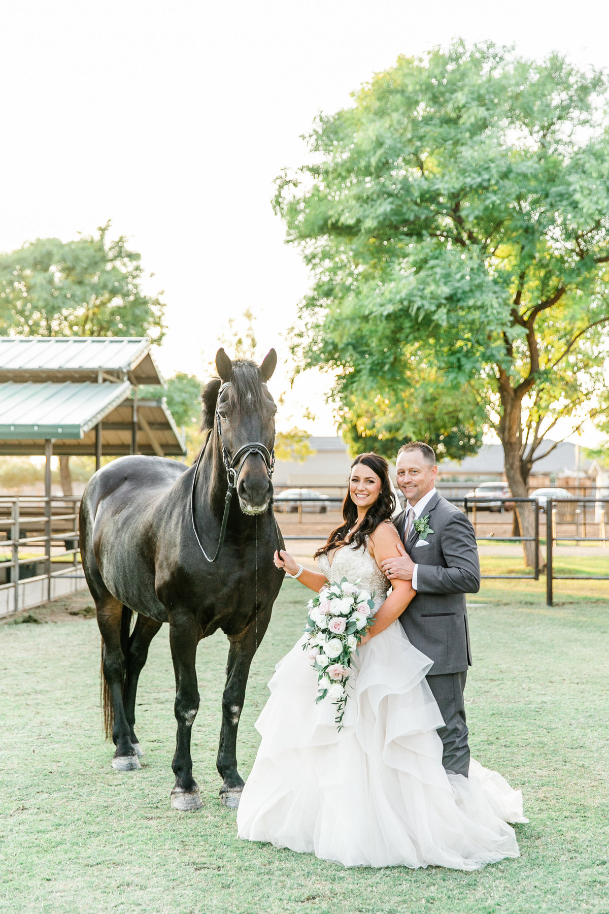 Karlie Colleen Photography - Glendale Arizona Backyard ranch wedding - Meghan & Ken-486