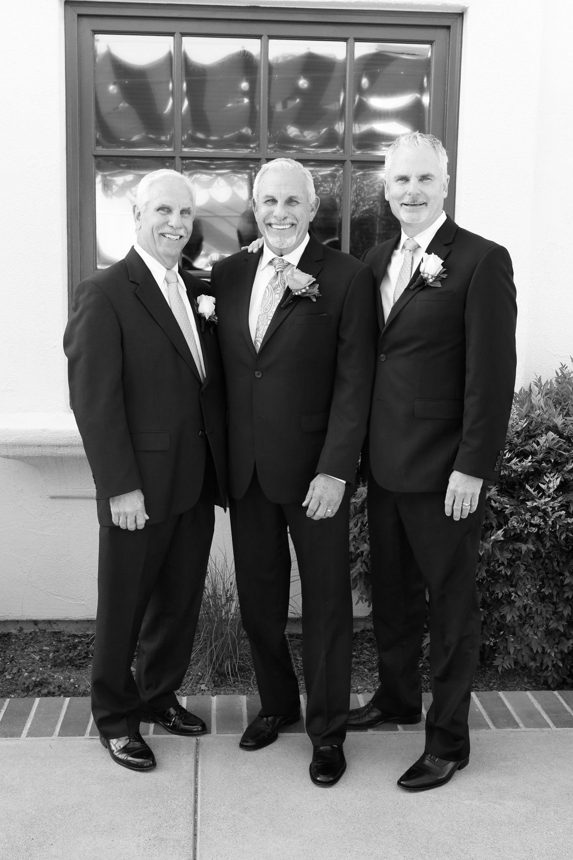 Wedding portraits deneffe studios photography, groom and groomsmen black and white