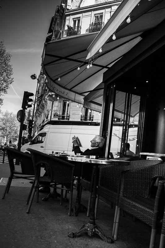 Streets of Paris BW 15