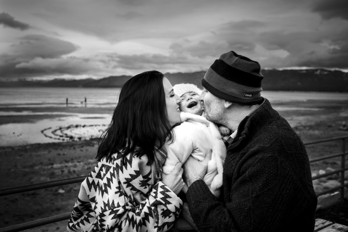 lake tahoe family photography session portrait