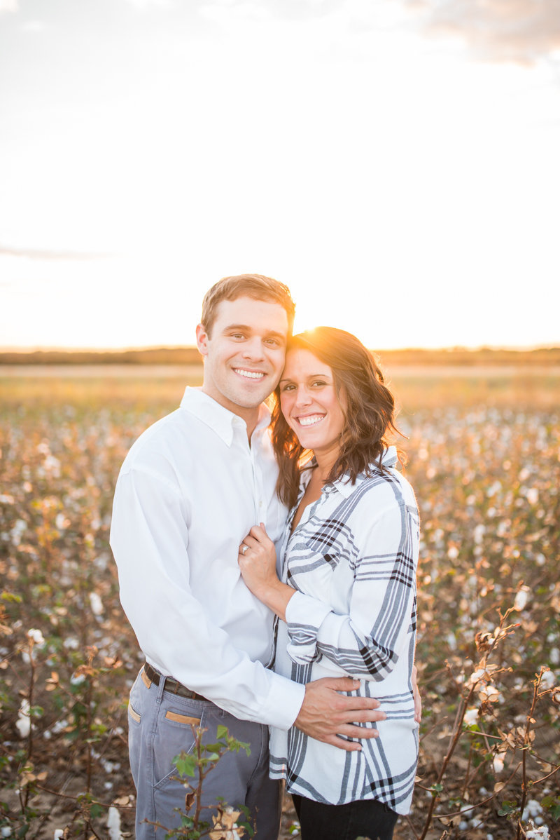 Sunset Engagement Session by Georgia Wedding Photographer Eliza Morrill-39