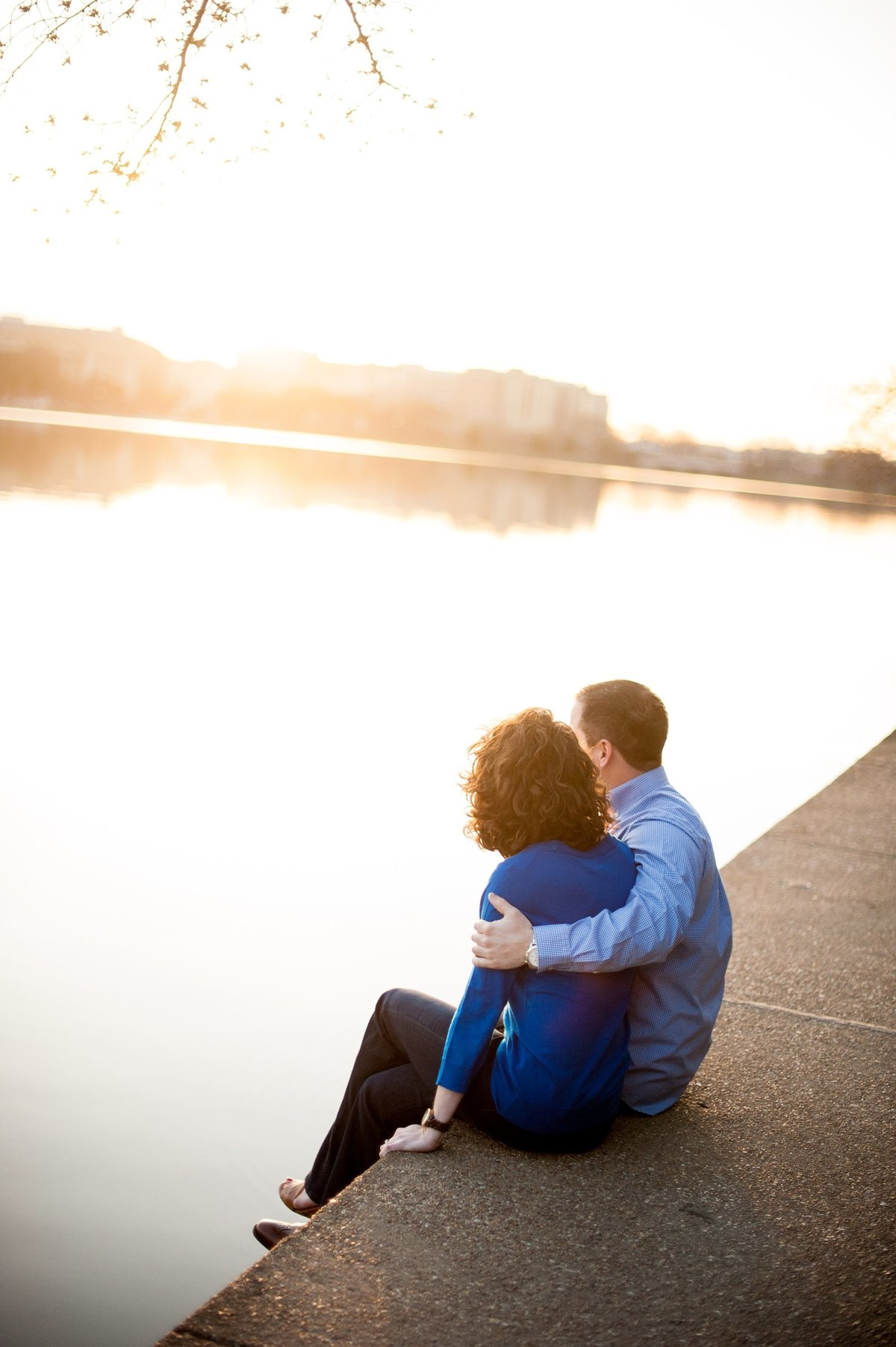 sunrise engagement session washington dc