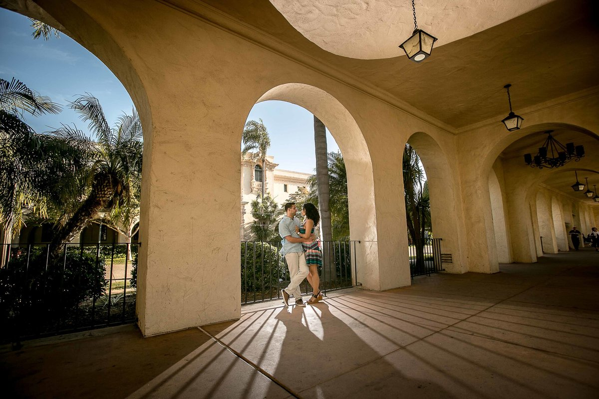 Balboa Park Engagement Photos -3