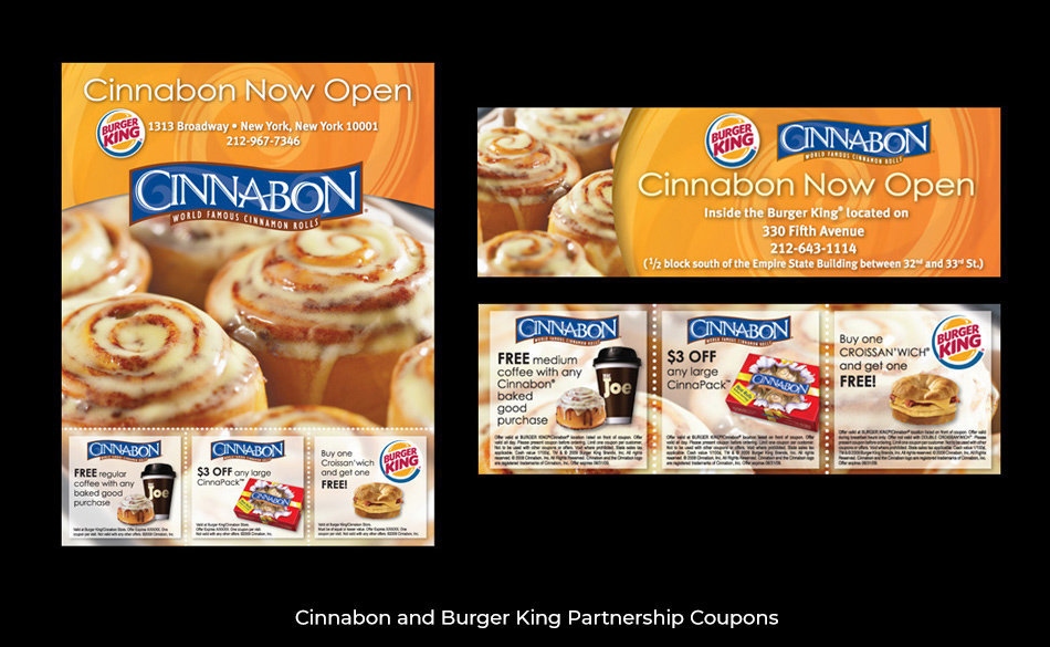 Cinnabon & Burger King