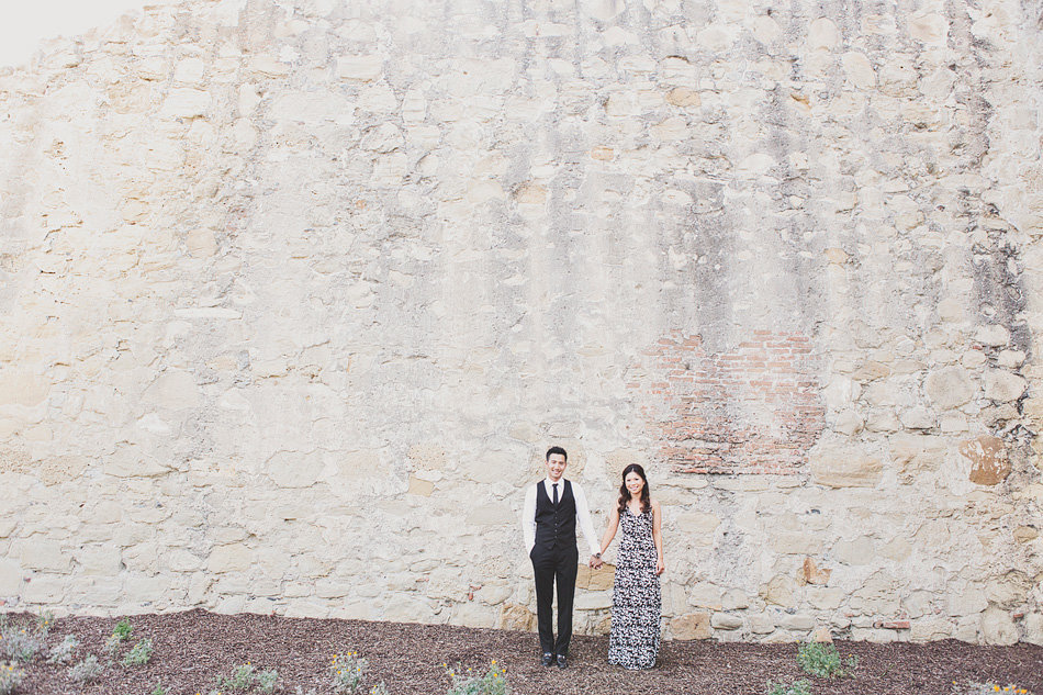 anthropologie inspired engagement session in Orange County