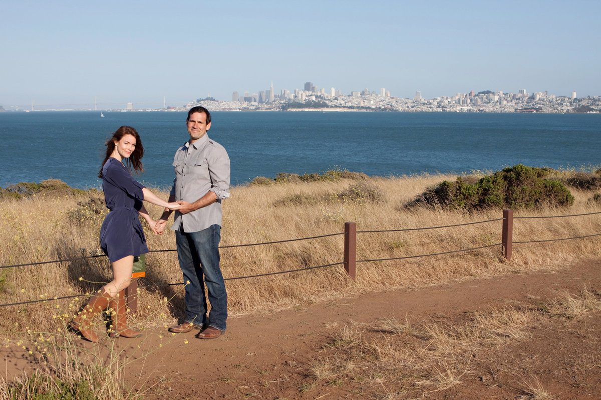 Cavallo Point Engagement Session, Engaged, Engagement Photography, Jennifer Baciocco Photography