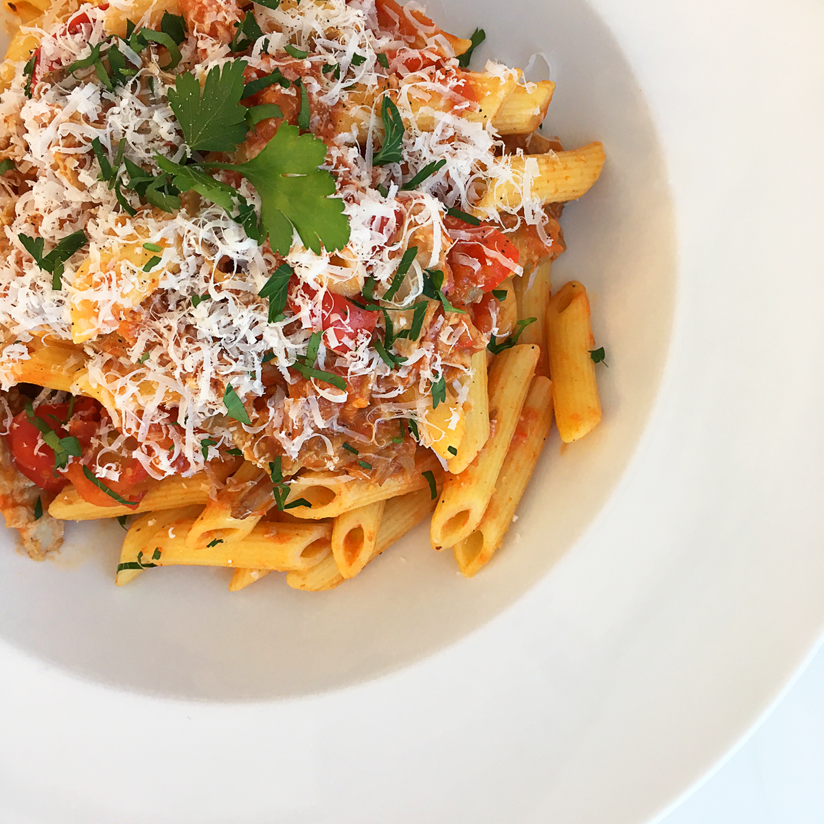 Whippt Catering Pork Ragout Penne