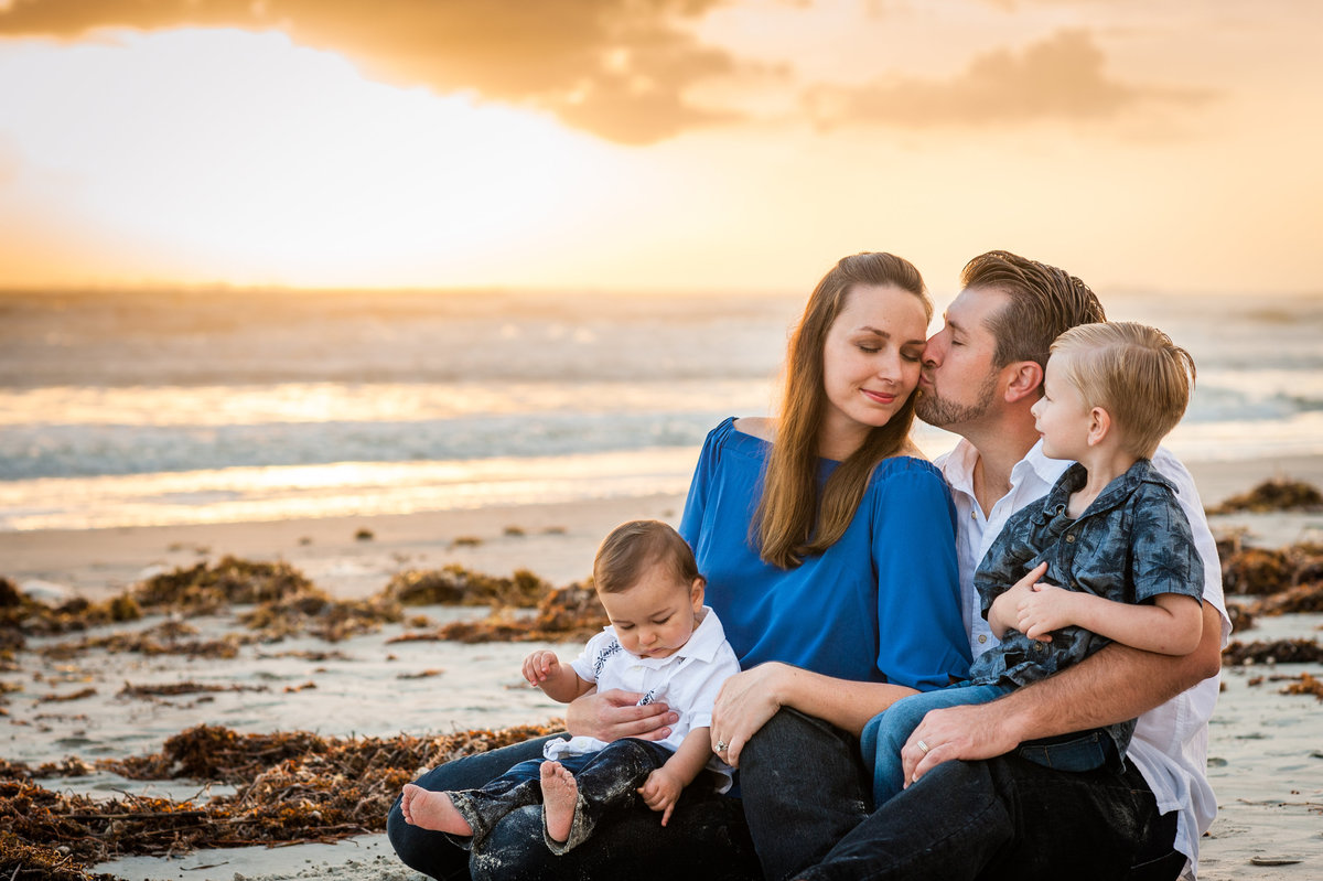 Ormond Beach family portrait photography