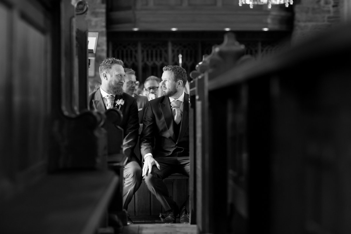 relaxed wedding photography devon