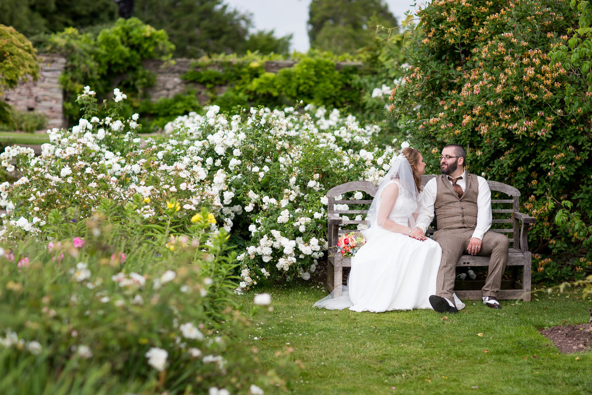 hestercombe house summer wedding