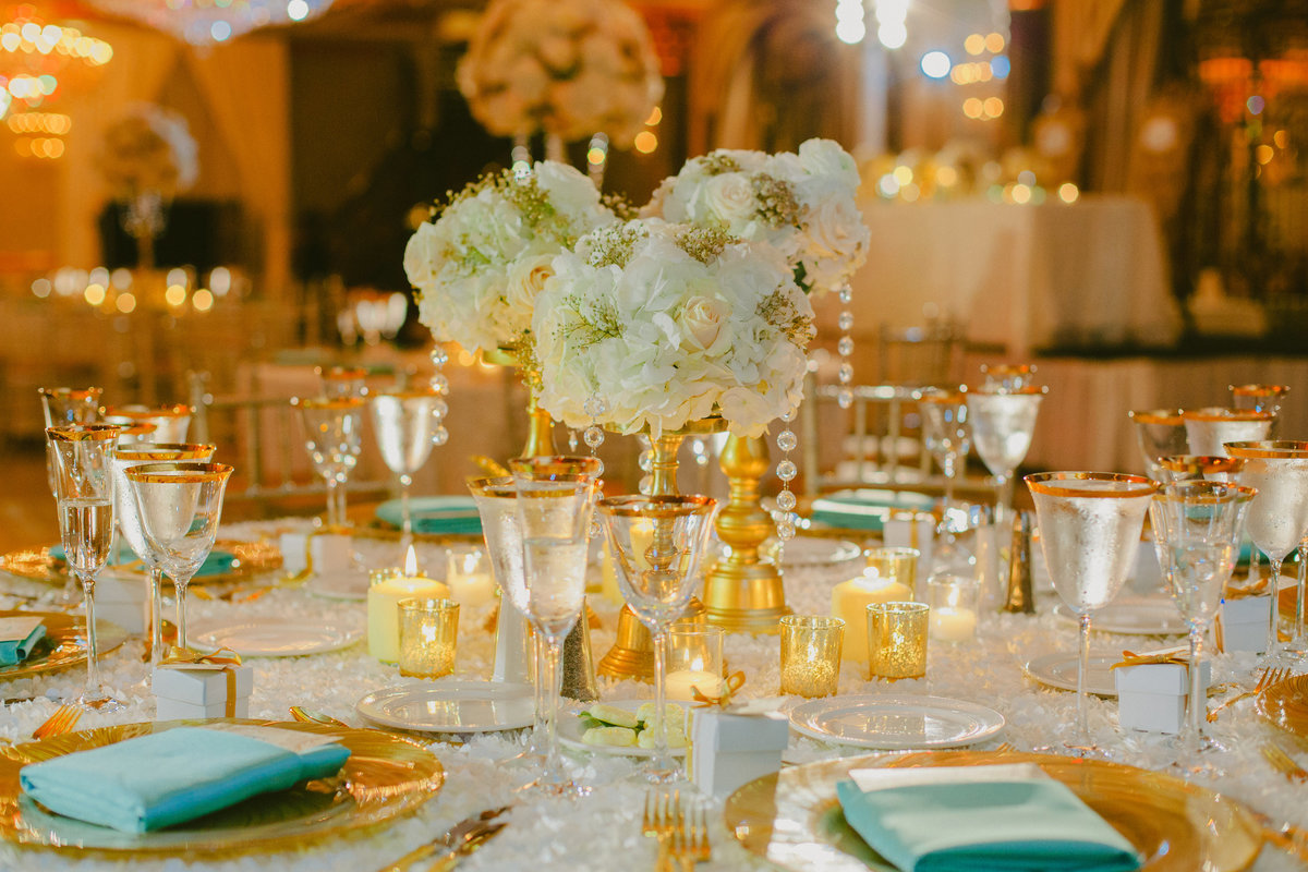 ivory gold tiffany blue beautiful wedding venetian new jersey nj event designer 11