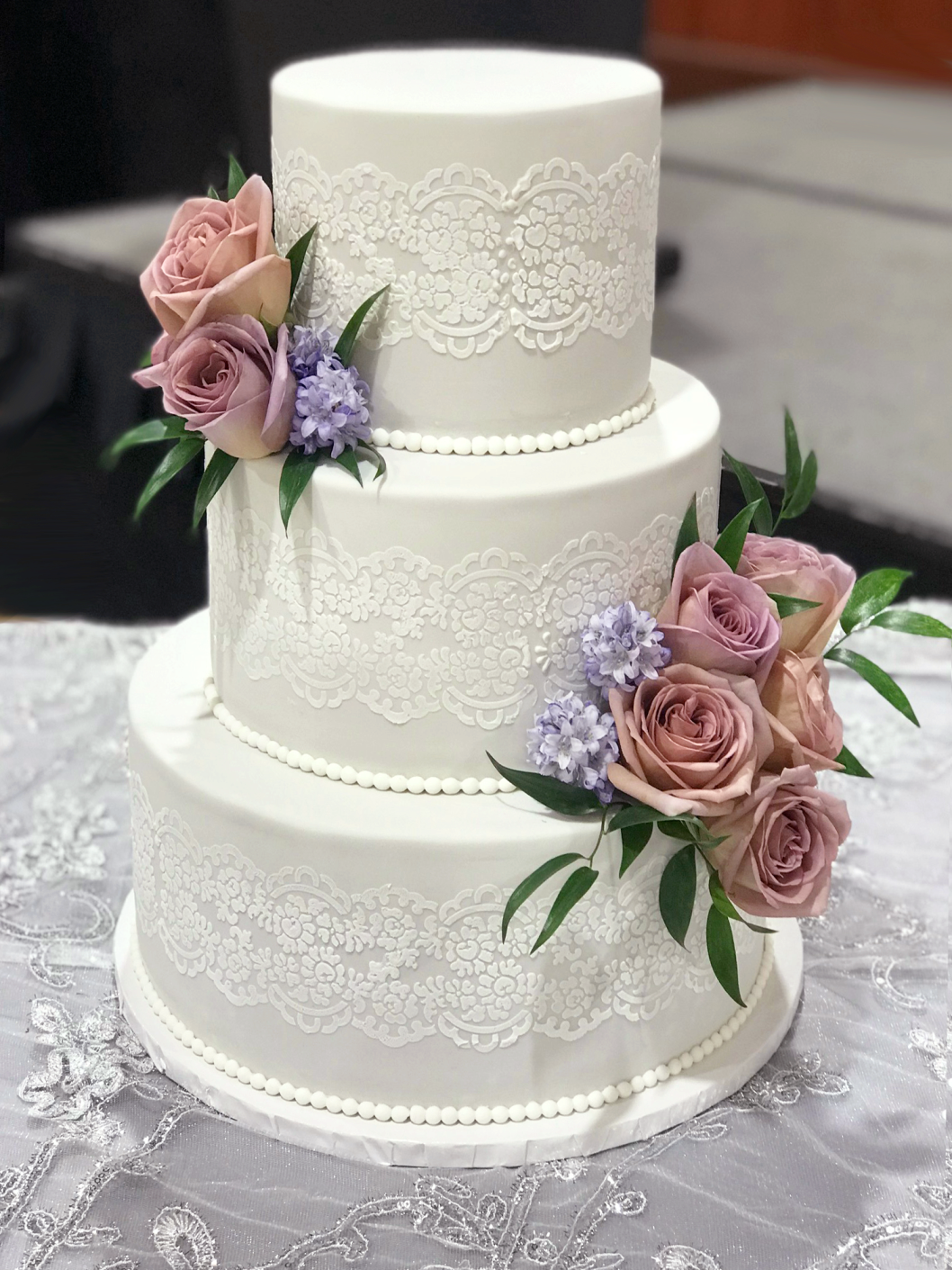 Whippt Desserts - wedding cake May 20182