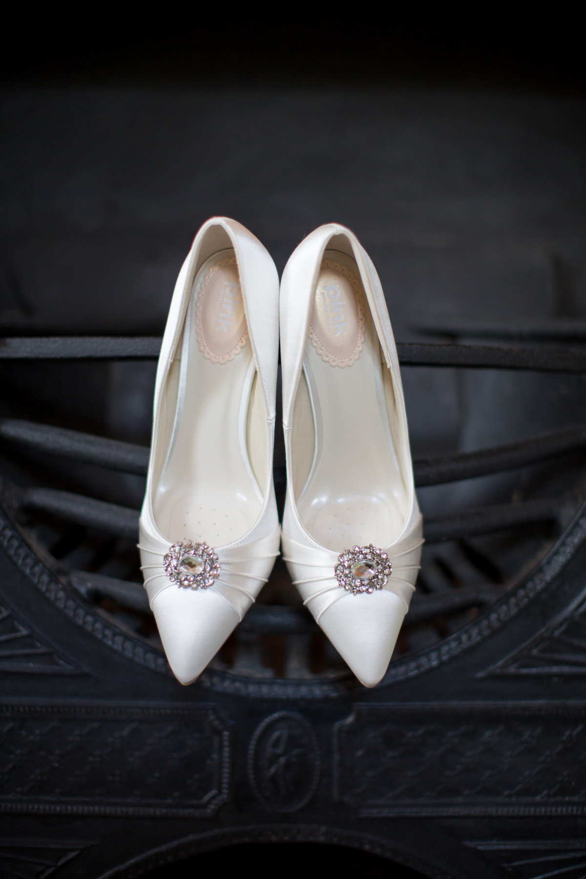 wedding shoes at bridwell