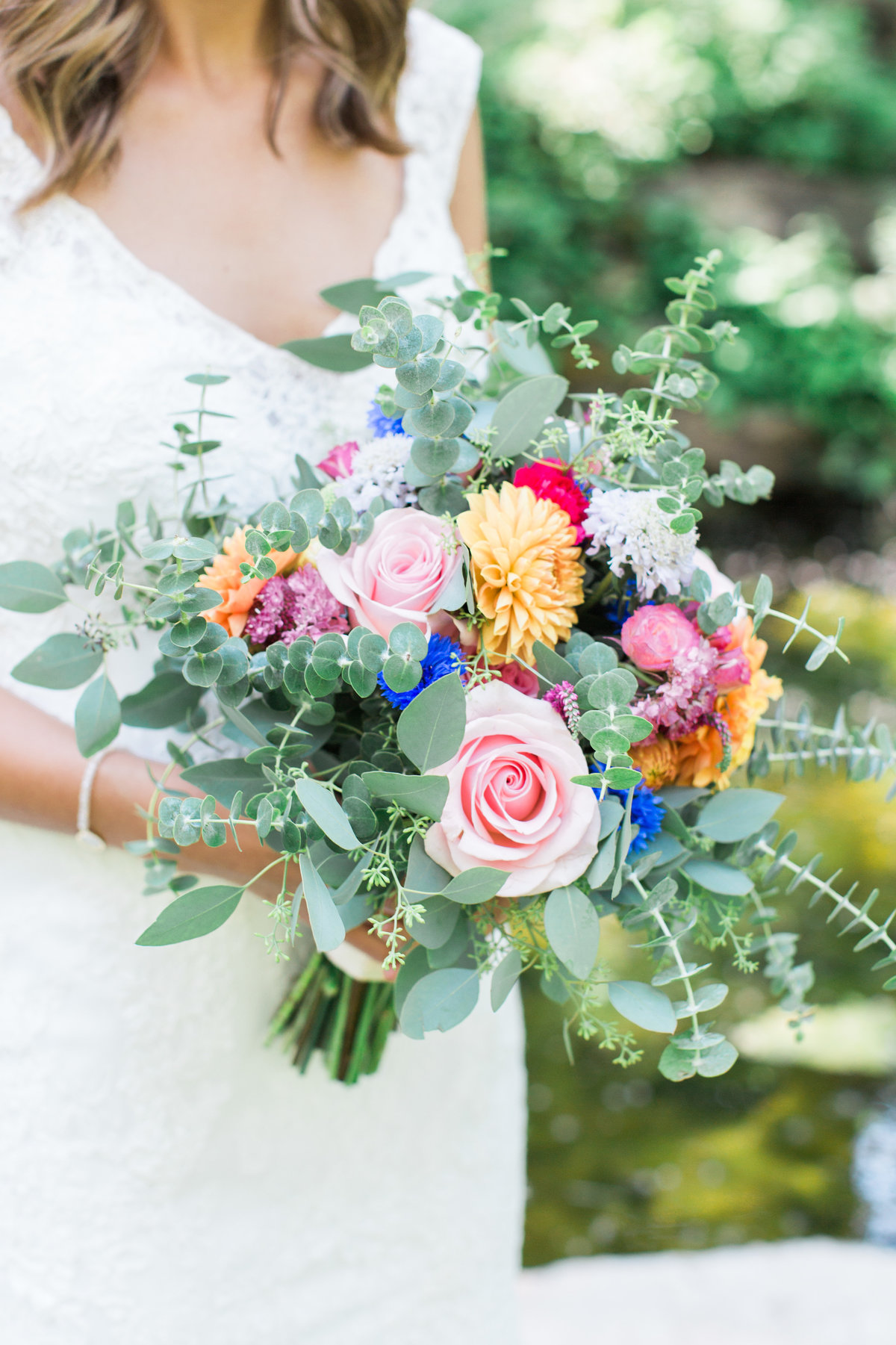 Charley Creek Gardens Wedding Bridal Bouquet  Photo