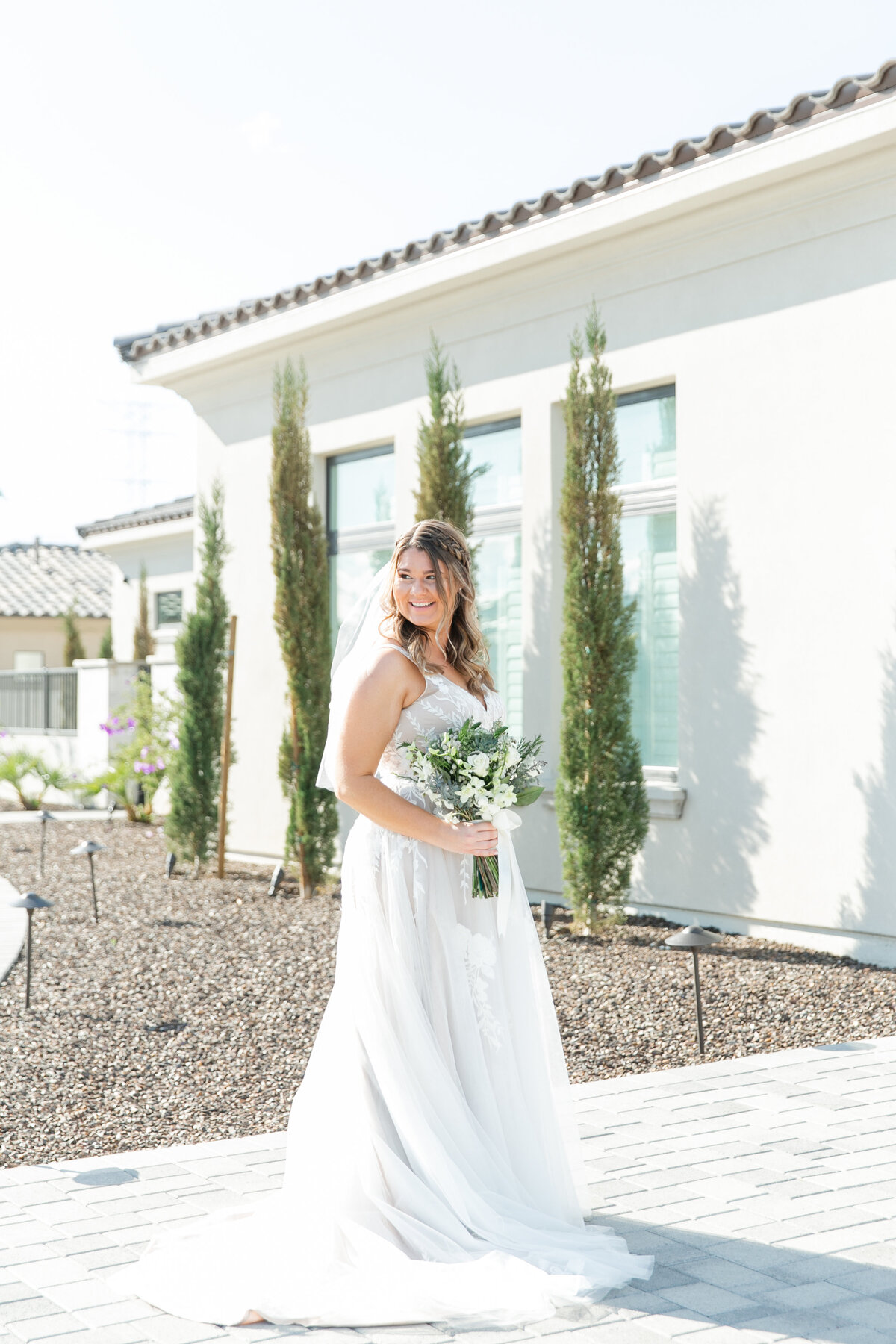 Karlie Colleen Photography - Arizona Backyard wedding - Brittney & Josh-102