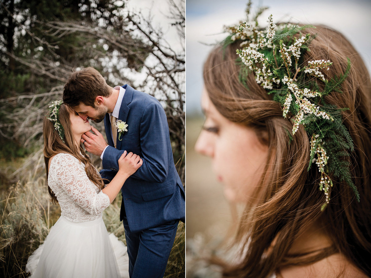 Destination wedding at the foot of the Grand Tetons by Knoxville Wedding Photographer, Amanda May Photos.