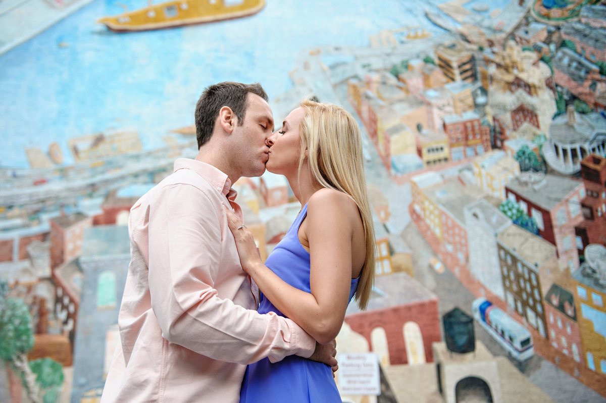 A florida couple comes to philly for their engagement session