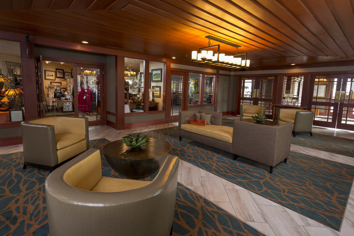 Lobby front area