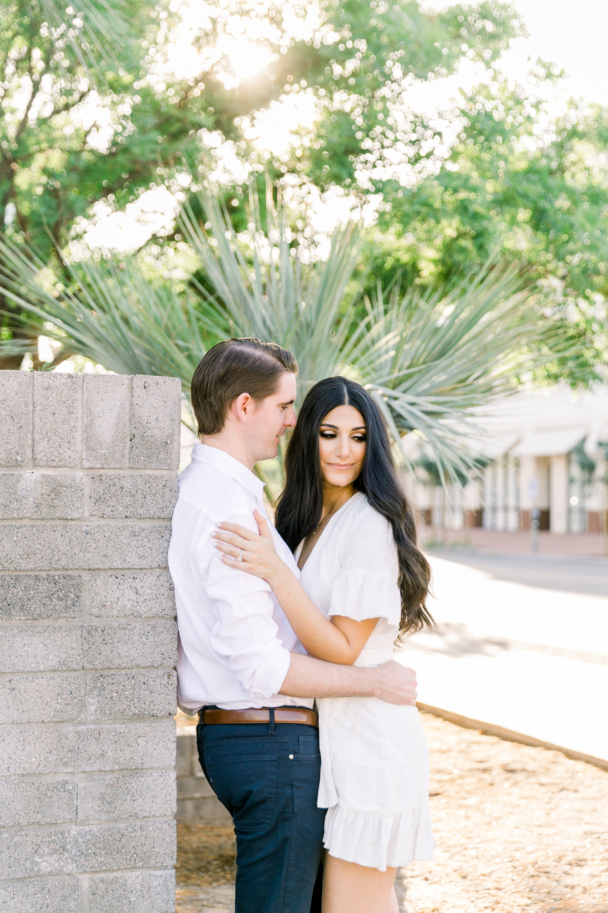 Karlie Colleen Photography - Arizona Engagement City Shoot - Kim & Tim-80