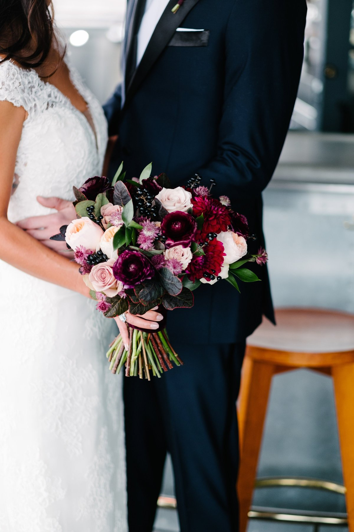 Ace Hotel Fall Colorful Chicago Wedding Florist Life in Bloom1