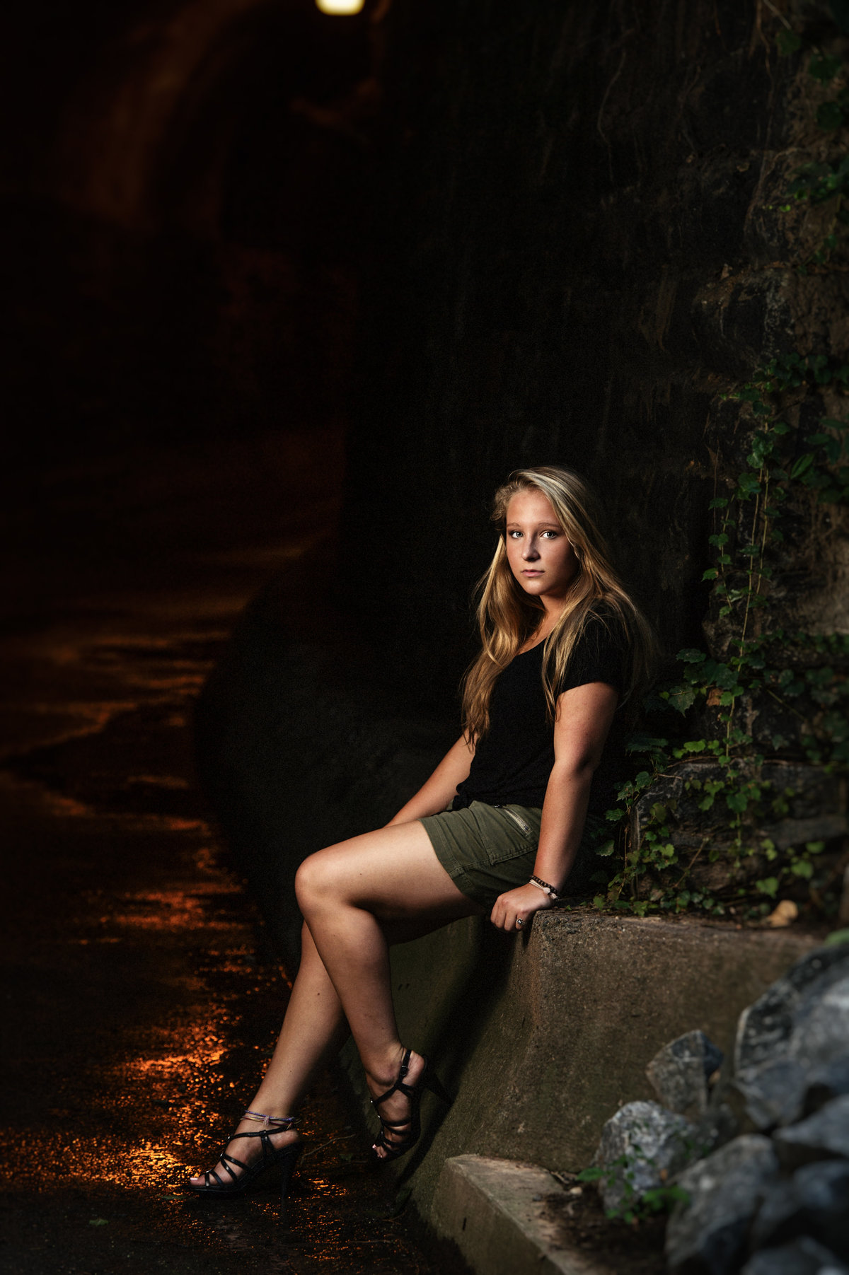 High School Senior Oldtown Alexandria Portrait Session