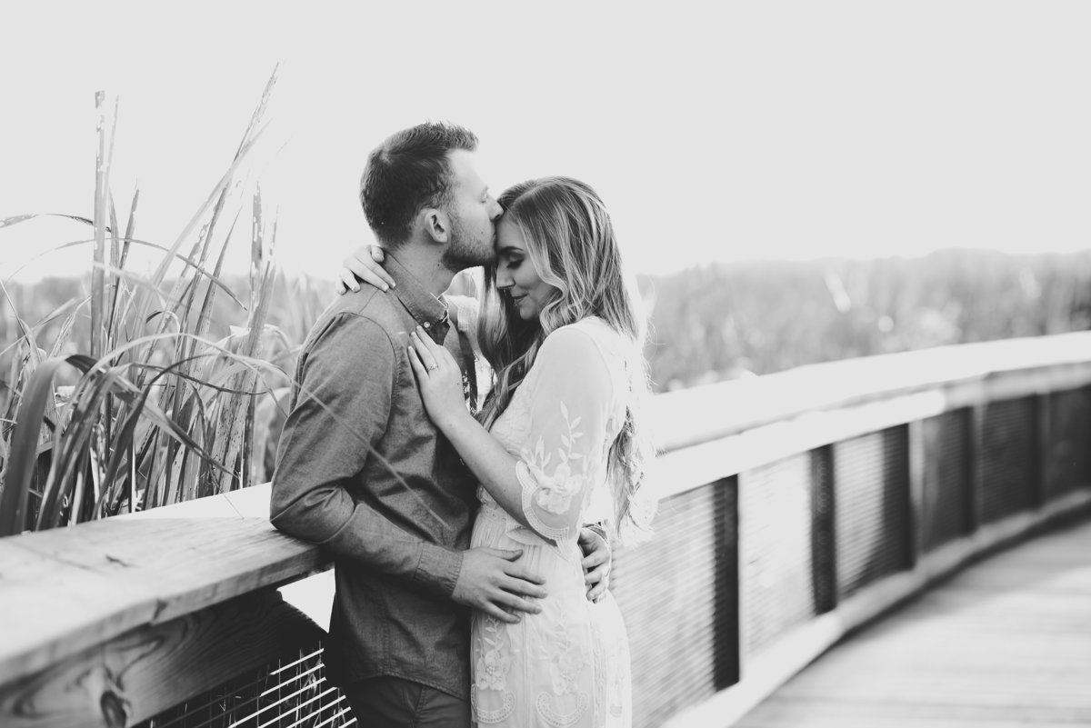 Intimate and loving engagement photographer in Florida.
