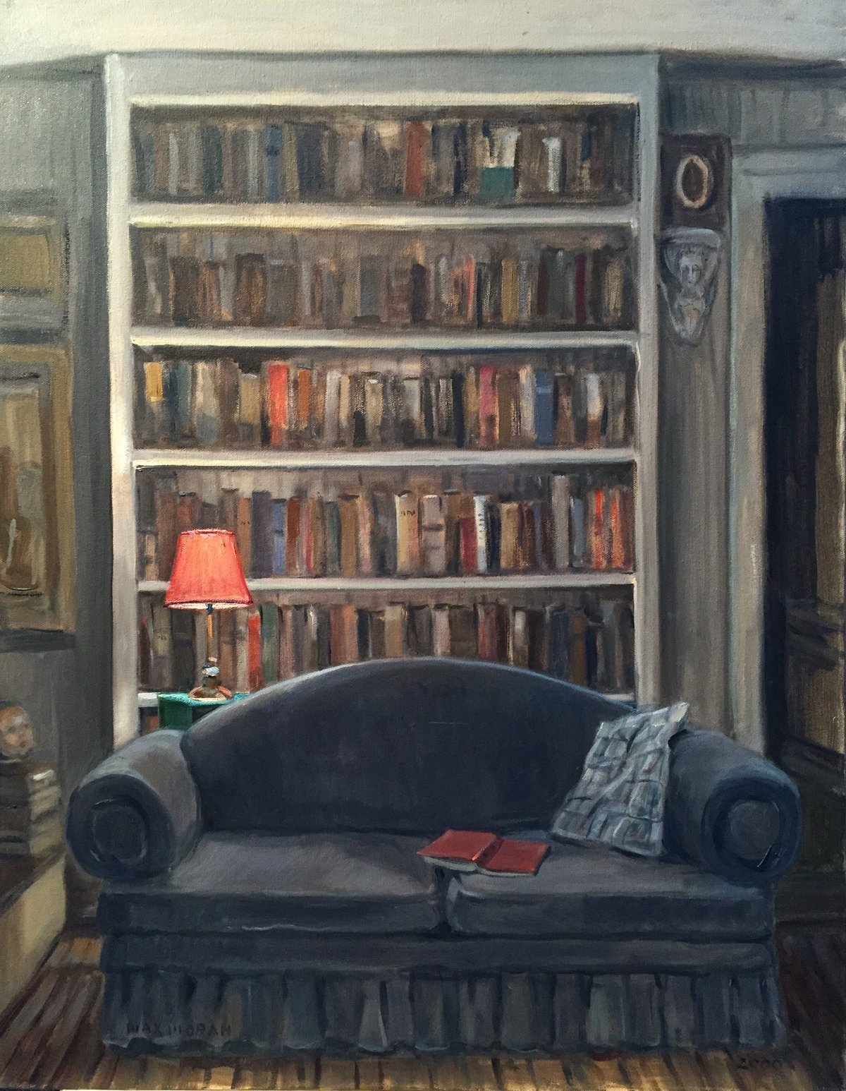 Reading Room, Miller Place 22 x 28 NFS