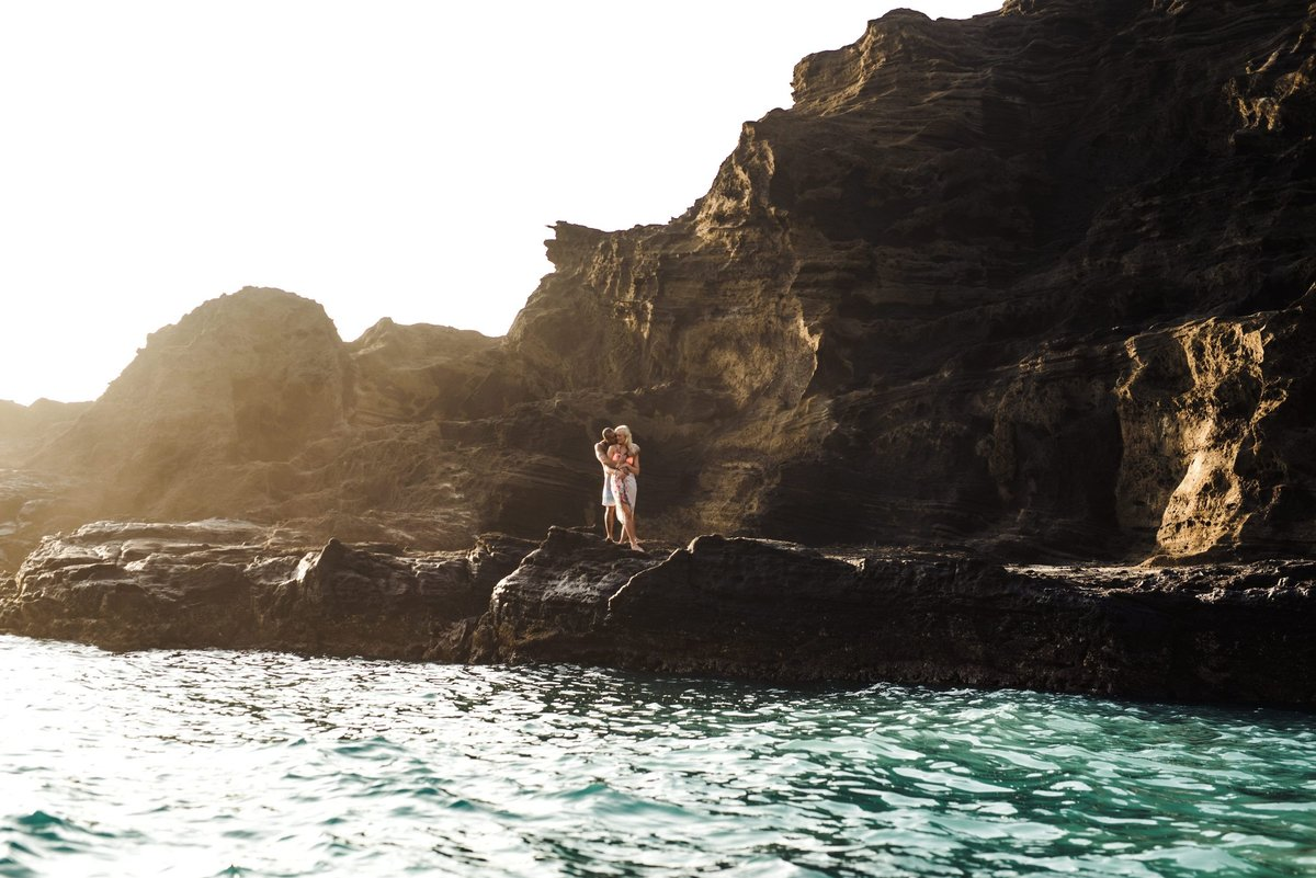 Eternity Beach Honolulu Hawaii Destination Engagement Session - 44