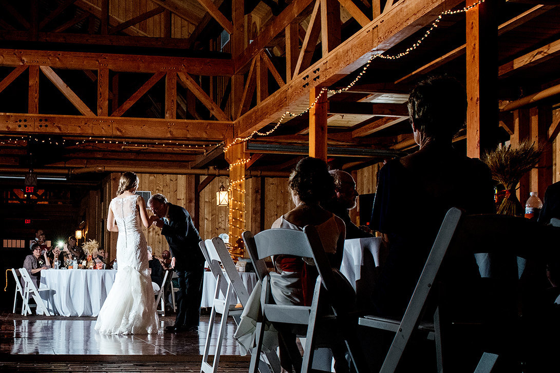 Beautiful wedding mildale farm kansas city