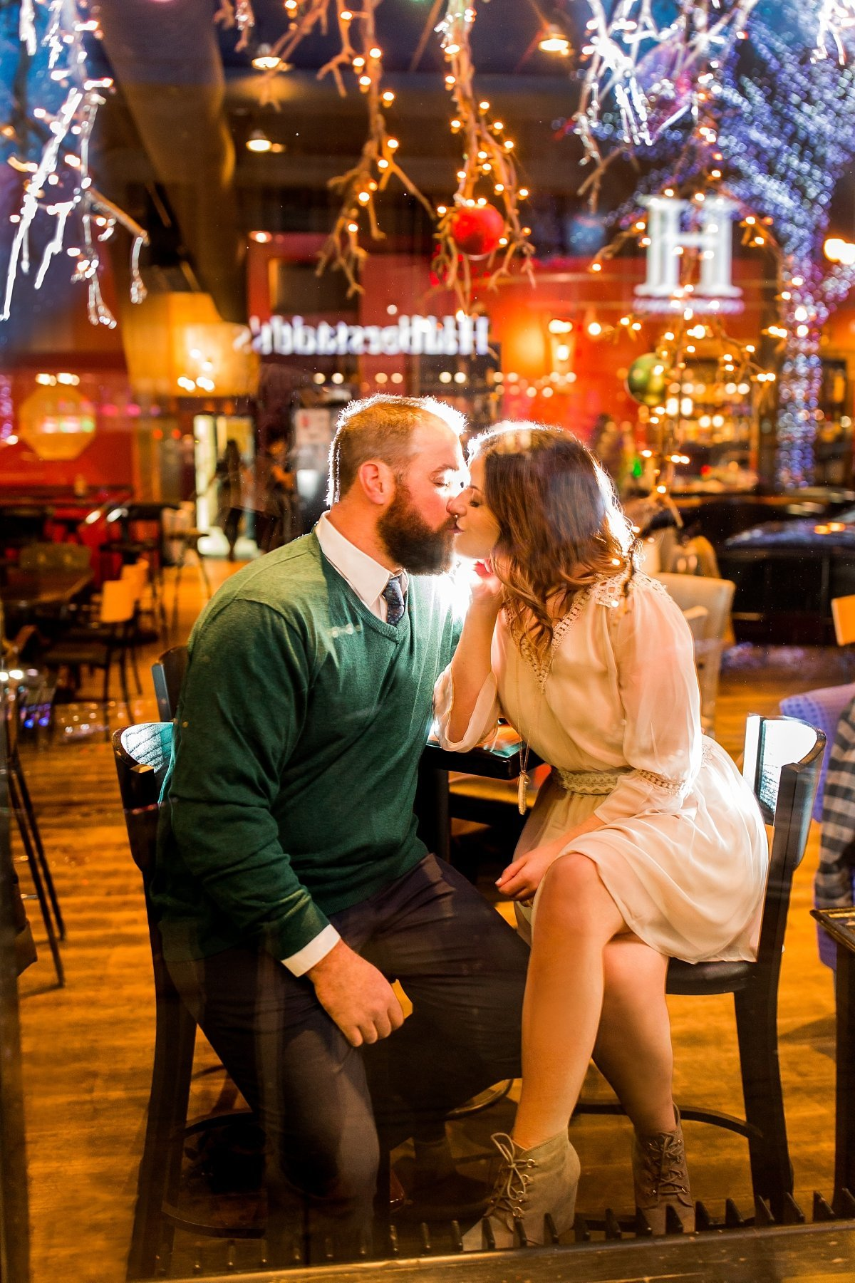 Downtown Fargo HoDo engagement session