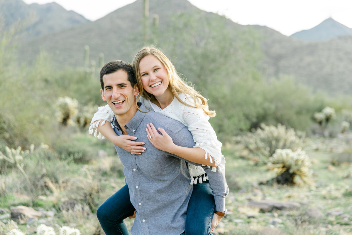 Karlie Colleen Photography - Katherine & Mike Arizona Engagement session- Andaz Wedding-170