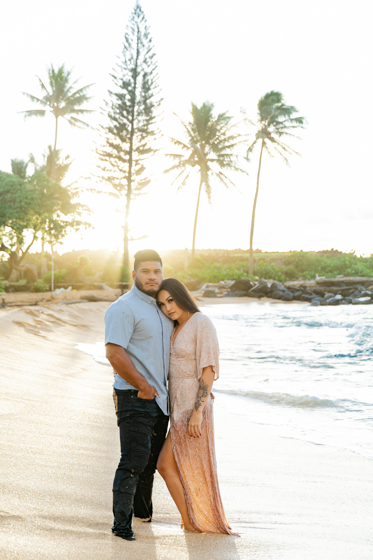 Karlie Colleen Photography - Kauai Hawaii Wedding Photography - Sydney & BJ -110