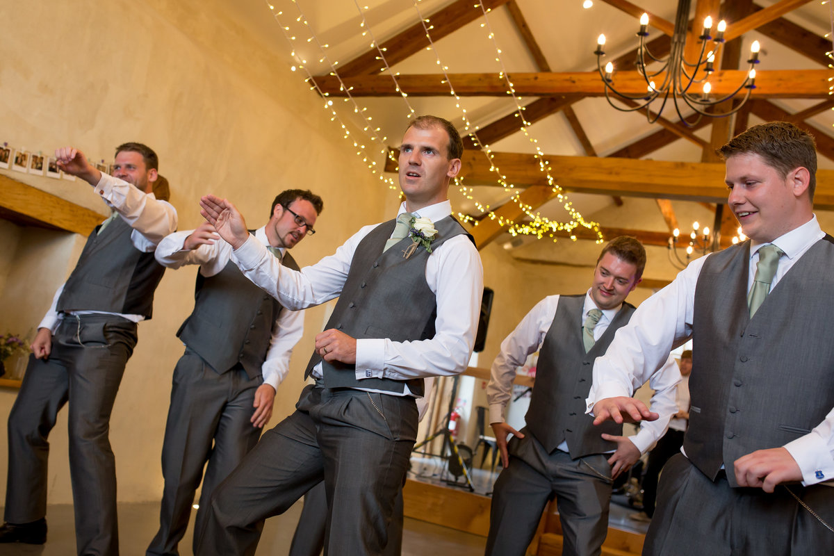 wedding reception at upton barn devon