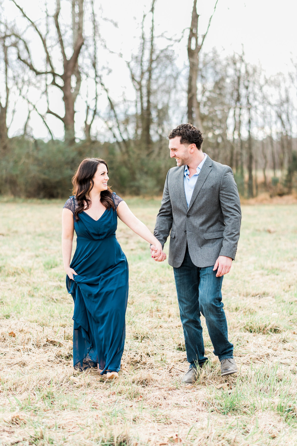 raleigh nc engagement photo