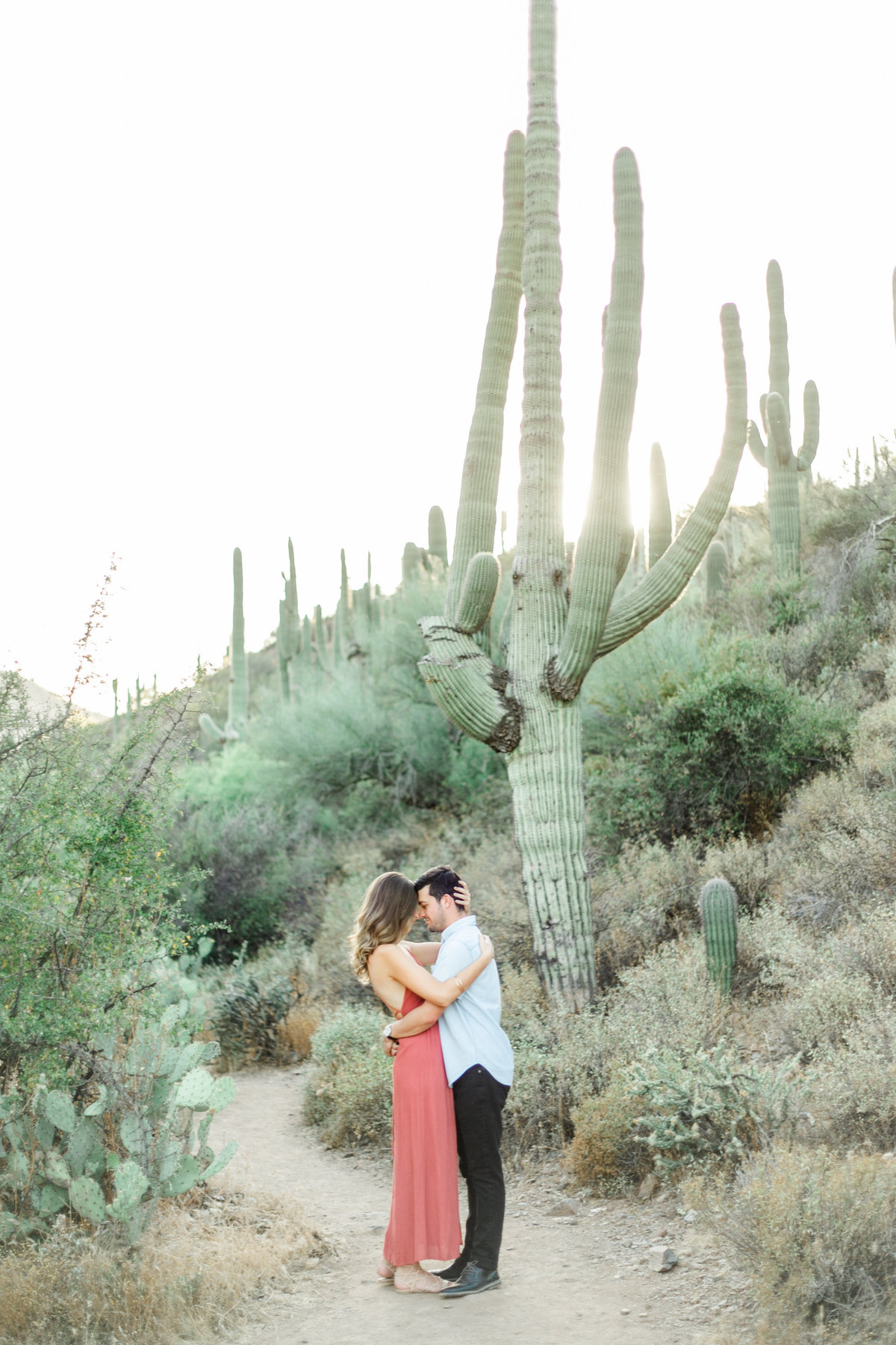 Karlie Colleen Photography - Arizona Desert Engagement - Brynne & Josh -110