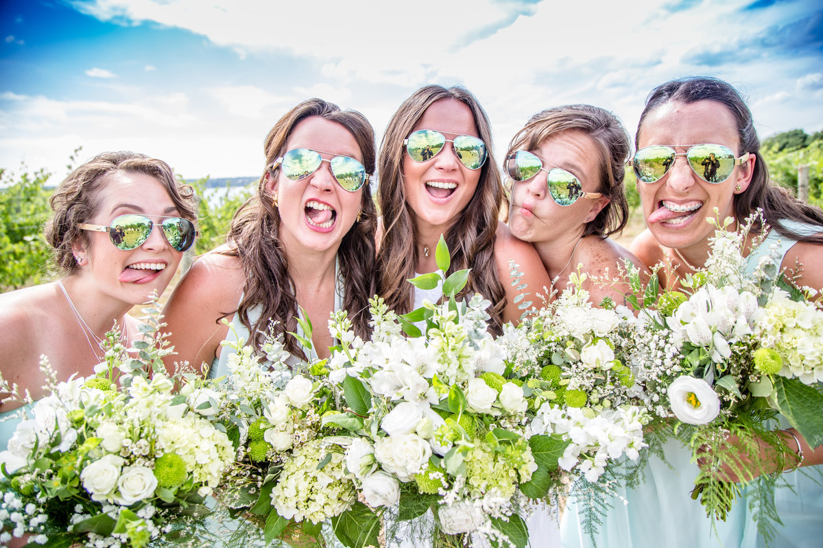 63 wedding photography Bridesmaids Portrait