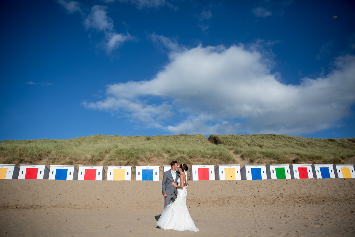 stunning beach wedding photography devon