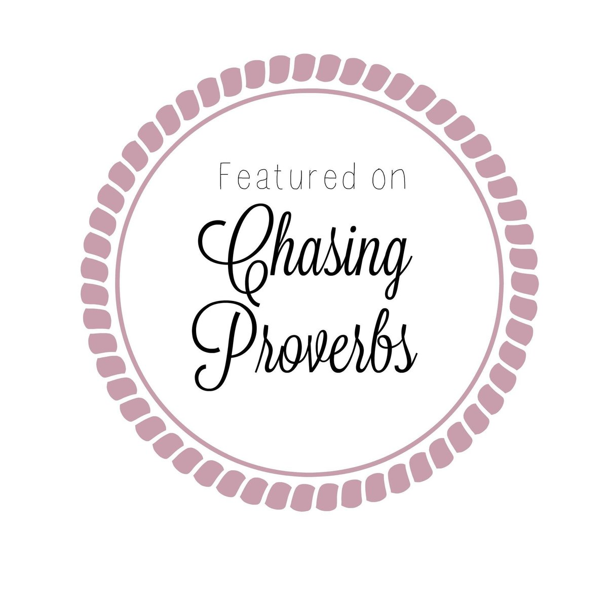 Featured on Chasing Proverbs