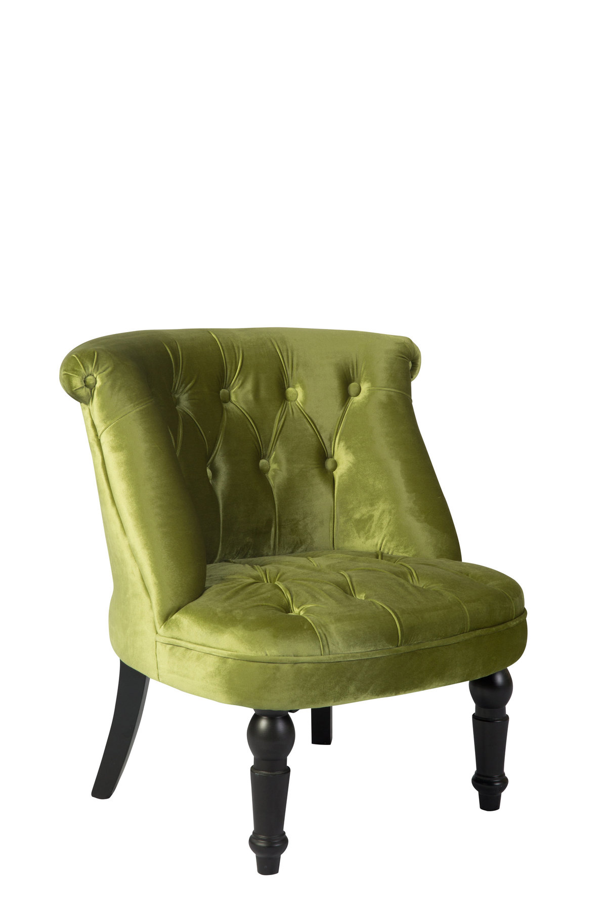 Siena Lime Green Club Chair