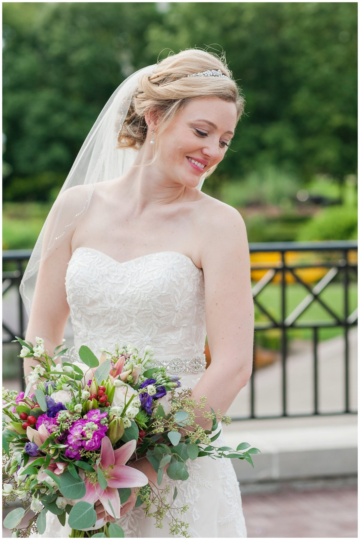 Franklin Park Conservatory Wedding The Palm House Bridal Garden Grove_0148