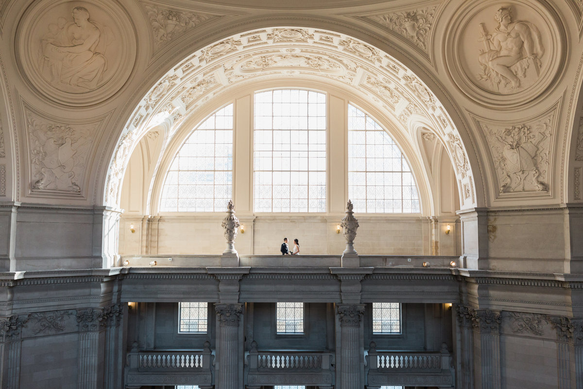Amelia + Alvin San Francisco City Hall Wedding - Cassie Valente Photography 0073