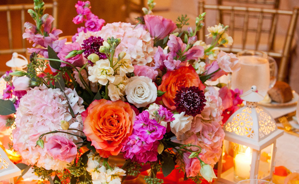 NYC Manhattan Penthouse Wedding Planner Colorful K. Barner Events 23