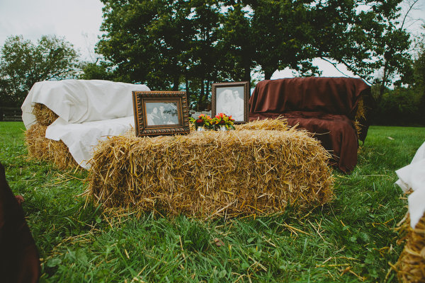 Farm home tent wedding fall rustic7